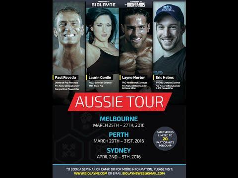 2016 BioLayne Australia Tour