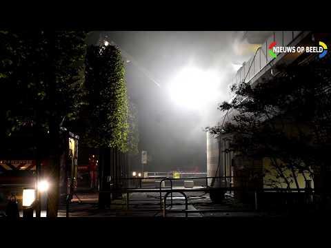 Bewoner overleden na uitslaande brand in woning Frans Mortelmansstraat Voorburg photo