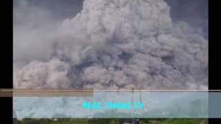 Huge eruption in pictures of the Indonesian volcano eruption