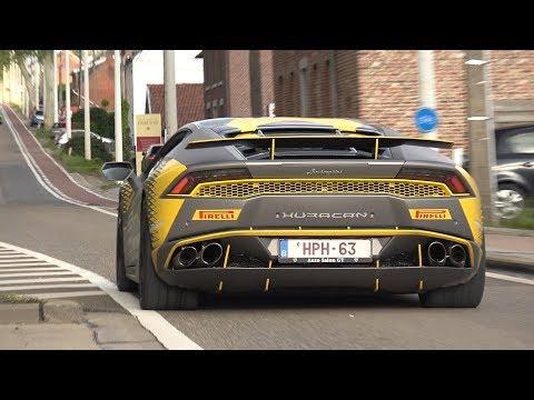 Supercars Accelerating! 812 Superfast, Aventador, GT3 Akrapovic, C63S AMG, Huracan!