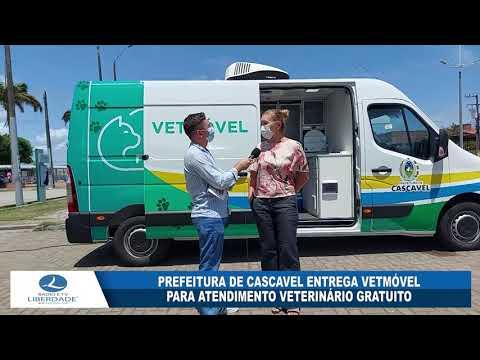 PREFEITURA DE CASCAVEL ENTREGA VETMÓVEL PARA ATENDIMENTO VETERINÁRIO GRATUITO