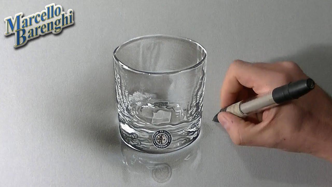Comment dessiner un verre à whisky ?