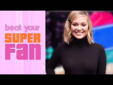Olivia Holt Goes Head-to-Head with Her Superfan | Beat Your Superfan | Cosmopolitan