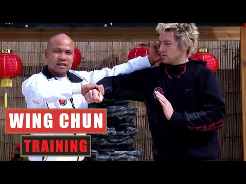 Basic Wing Chun training drill # 1| Master Wong