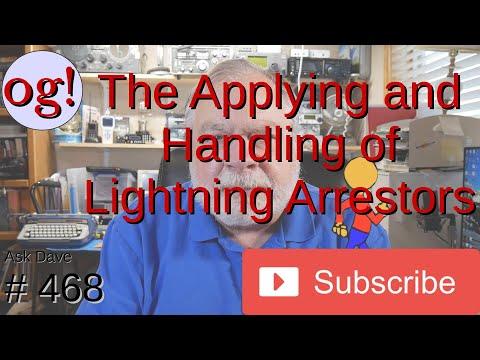 The Applying and Handling of Lightning Arrestors (#468)