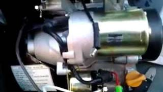 6.5hp predator electric start test on