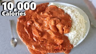 Massive Indian Curry Platter (10,000 Calorie Feast)