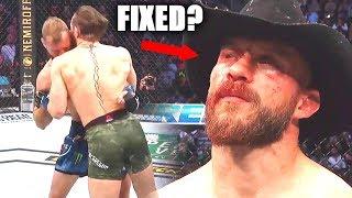Was Conor McGregor vs Donald Cerrone Fixed?