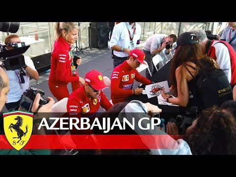 Azerbaijan GP - Signed, sealed, delivered, they're yours Tifosi!