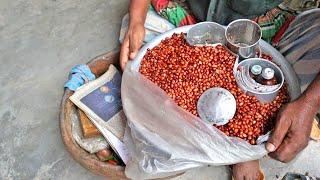 Special Masala Badam   Kind of Jhal Muri Recipe   Bangladeshi Street Food