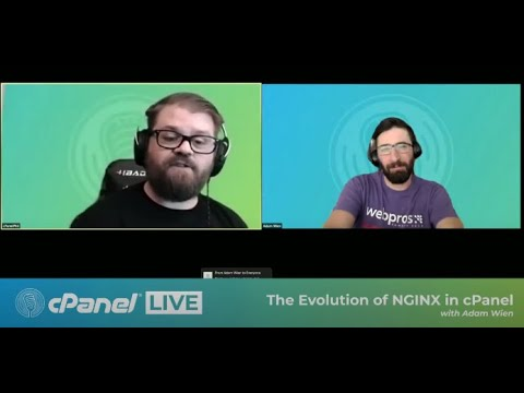 cPanel Live | The Evolution of NGINX in cPanel