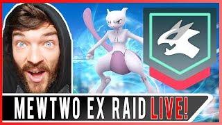 POKEMON GO MEWTWO EX RAID! My 5th EX Raid Pass in Pokemon GO!