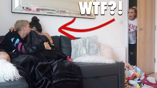 I Spent the Night in my BROTHERS House & he had No Idea.. (24 Hour Challenge) 😱😭