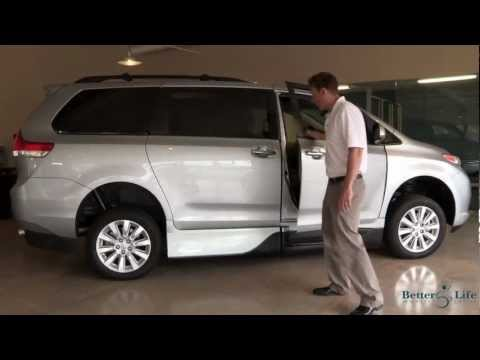 2013 Toyota Sienna Mobility Wheelchair Accessible Van by VMI Video
