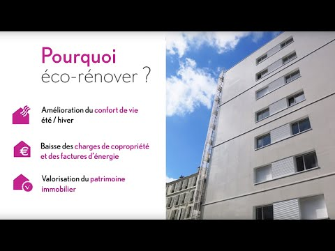 Pourquoi Eco-rénover ? Les 3 bénéfices d'une rénovation énergétique en copropriété