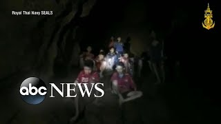 Missing soccer team found alive in a cave in Thailand after 10 days