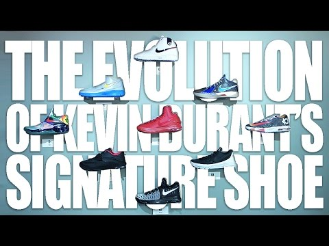 See How Kevin Durant's Signature Shoe Has Evolved Over Time at the Nike KD9 Launch Event in Austin,