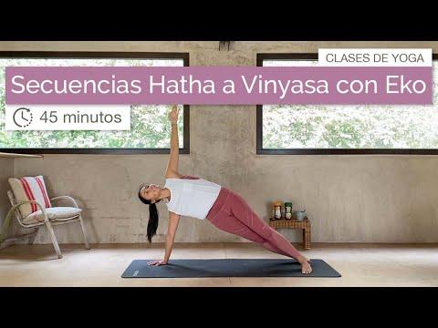 6 Secuencias de Hatha a Vinyasa con Eko
