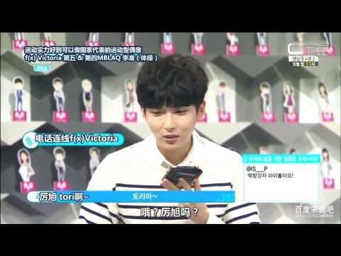 【茜♥】140613 Super Idol Chart Show - 宋茜連線cut