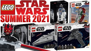NEW LEGO Star Wars SUMMER 2021 Set Rumors! (CLONE WARS, MANDALORIAN, UCS, & MORE!)