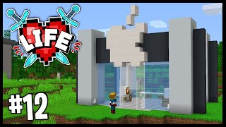 I OPENED UP MY OWN APPLE STORE!! | Minecraft X Life SMP | #12