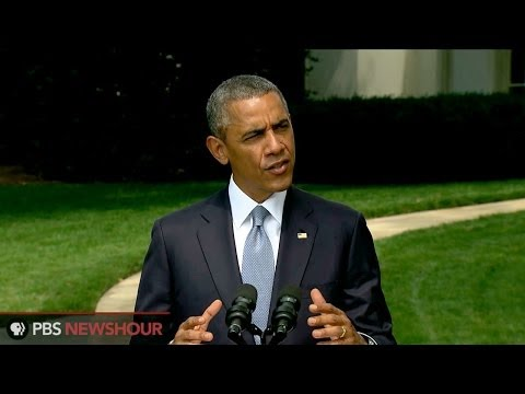 Obama demands unfettered access to airliner wreckage - PBS NewsHour  - l_NJh4r0B8g -