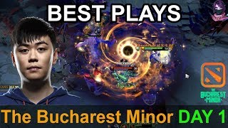 The Bucharest Minor BEST PLAYS Qualifier Day 1 Highlights Dota 2 Time 2 Dota #dota2 #bucharestminor