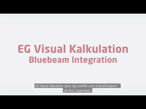 EG Visual Kalkulation - Bluebeam Integration