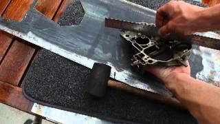 warped air horn repair tutorial on Quadrajet carburetor