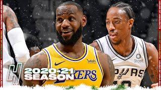 Los Angeles Lakers vs San Antonio Spurs - Full Game Highlights | December 30, 2020 NBA Season