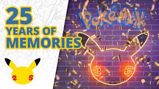 25 Years of Memories | #Pokemon25