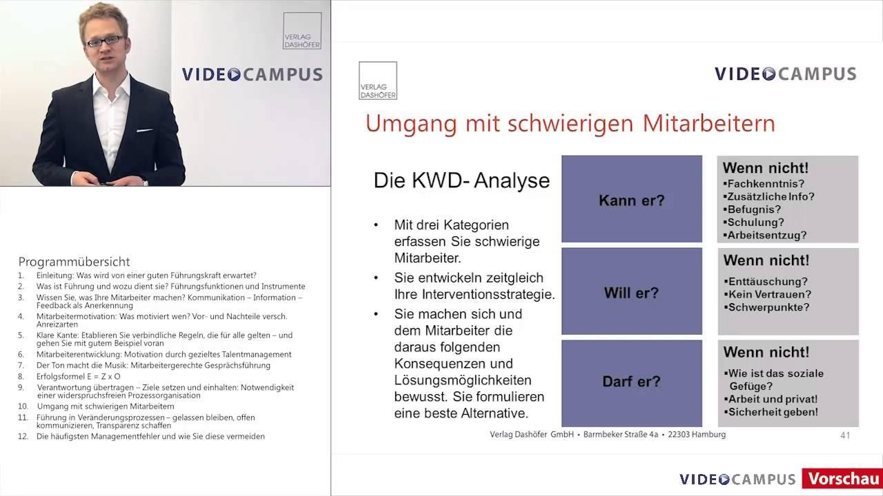"""Vorschau zum Videoseminar """"Führung kompakt"""""""