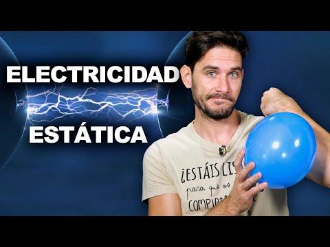 ¿Cómo funciona la electricidad estática?
