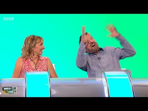 Did Lee Mack refuse to help a tangled hang glider because he was rude to him? - Would I Lie to You?