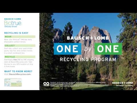 Bausch + Lomb ONE by ONE Recycling Program