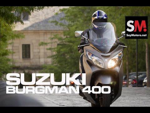 Prueba Suzuki Burgman 400 ABS 2015