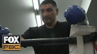 Chris Arreola's open workout ahead of his heavyweight showdown against Andy Ruiz Jr. | PBC ON FOX