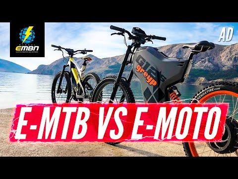 E-MTB Vs E-Moto | What's The Difference?