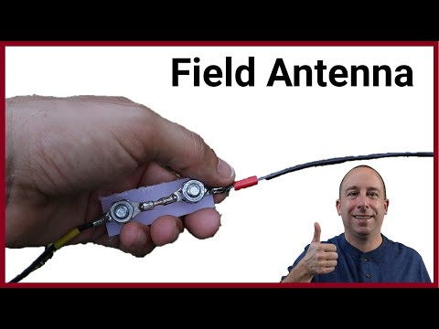 Ham Radio Antenna Project: 6 band linked dipole for field day or POTA