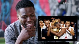 Kevin Hart React to His Cringy Basketball Videos