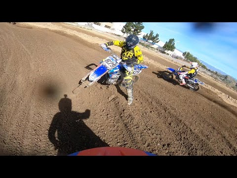 Hunter Yoder's Fighting First Laps at TWMXRS   GoPro Onboard