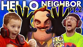 WE SCARED OUR BLIND NEIGHBOR!?  FGTEEV Scary Hello Neighbor Kids Horror Game Part 2 (Alpha 2 Update) - YouTube