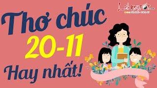 Thơ Chúc 20/11 Ý Nghĩa Nhất Tặng Thầy Cô Tri Ân Ngày Nhà Giáo Việt Nam - Lời Chúc Hay Nhất