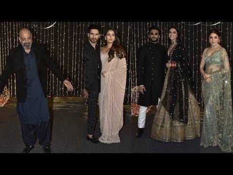 Priyanka Chopra - Nick Jonas Grand Reception Full HD   Salman Khan, Deepika Padukone, Ranveer Singh