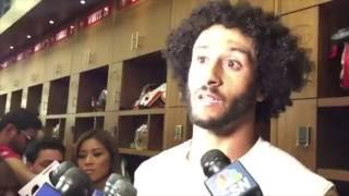 Colin Kaepernick Says He'll Continue To Protest National Anthem