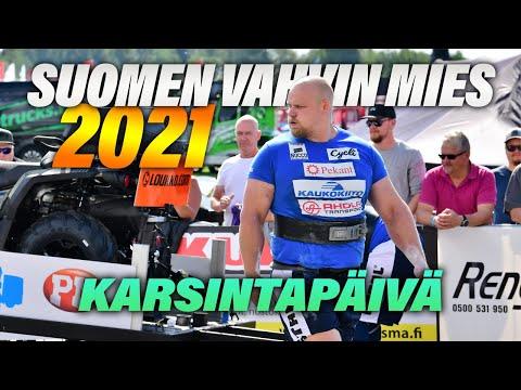 Suomen Vahvin Mies 2021 - Karsintapäivä!