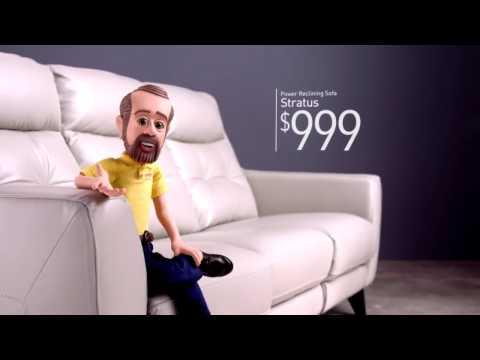 The Stratus Power Reclining Sofa - Bob's Discount Furniture