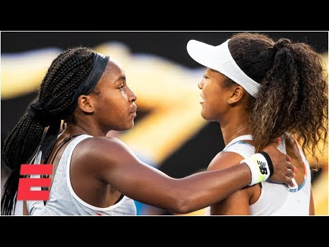 Coco Gauff takes down Naomi Osaka in straight sets | 2020 Australian Open Highlights