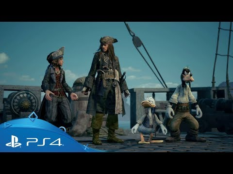 Kingdom Hearts III | E3 2018 Pirates of the Caribbean -traileri | PS4