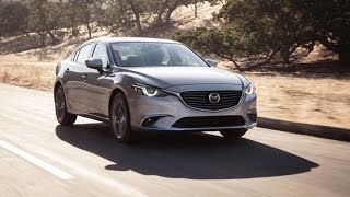 2016 Mazda 6 Start Up and Review 2.5 L 4-Cylinder